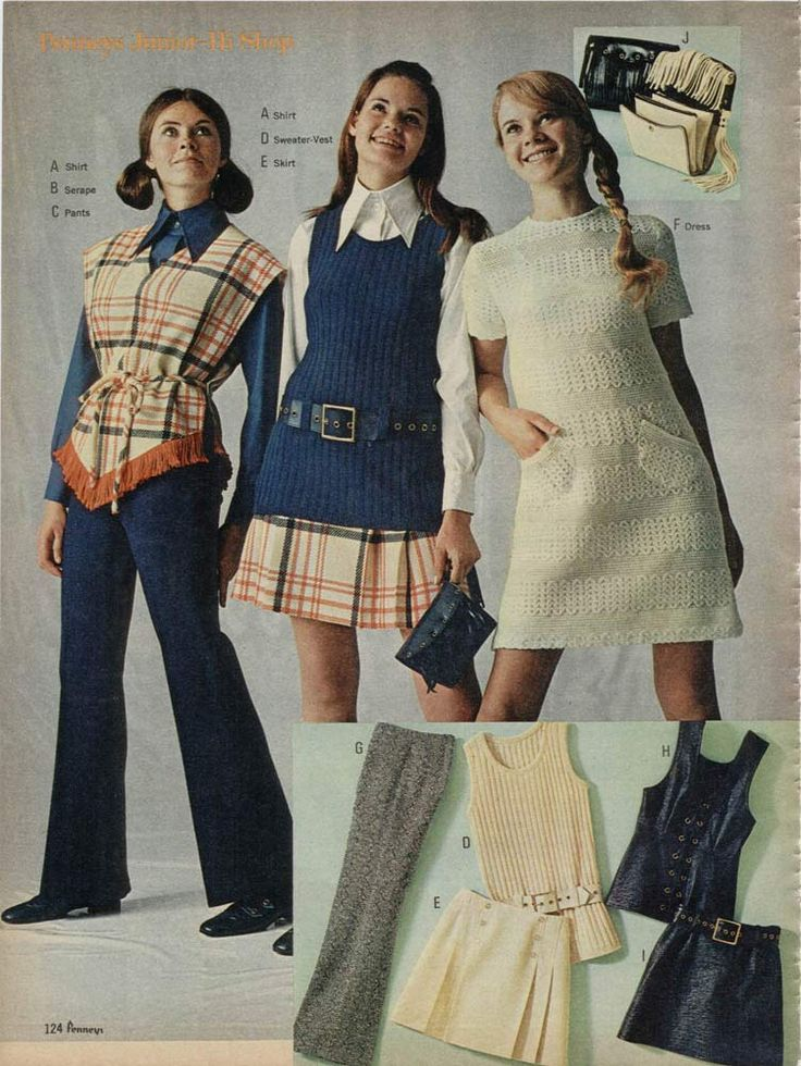 1970s Fashion 1970s Women S Fashion Ads From Catalogs