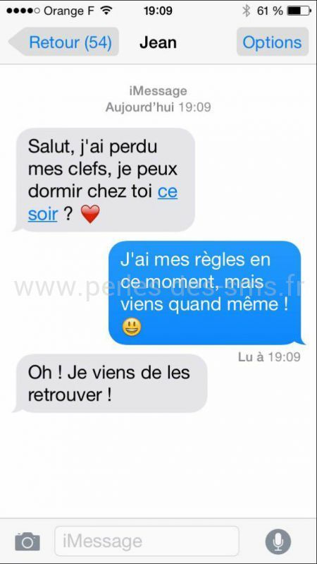 20 textos de couple hilarants, qui montrent que l