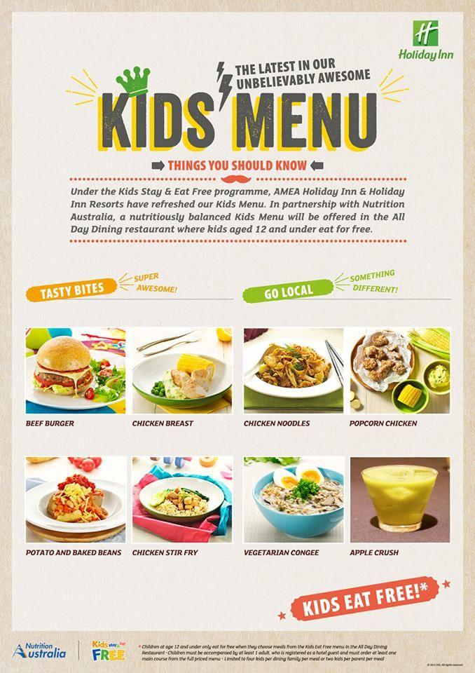 Kids Stay and Eat Free Programme - Holiday Inn Resort Batam