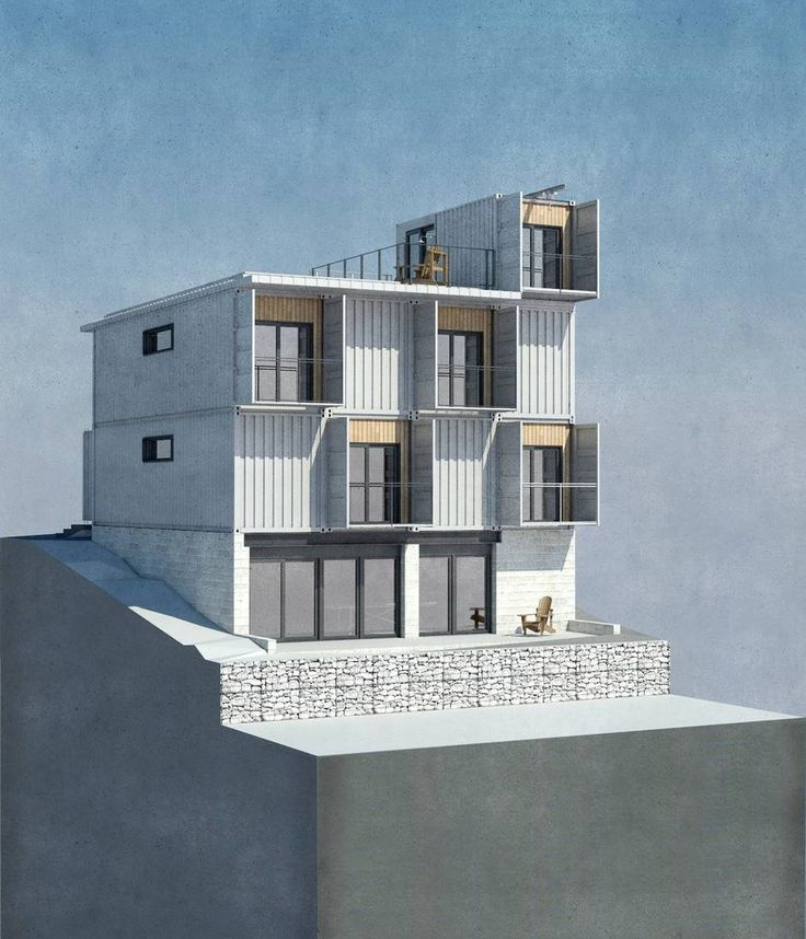 Proposed Hamilton container home is a steel building for Steeltown - The Globe and Mail