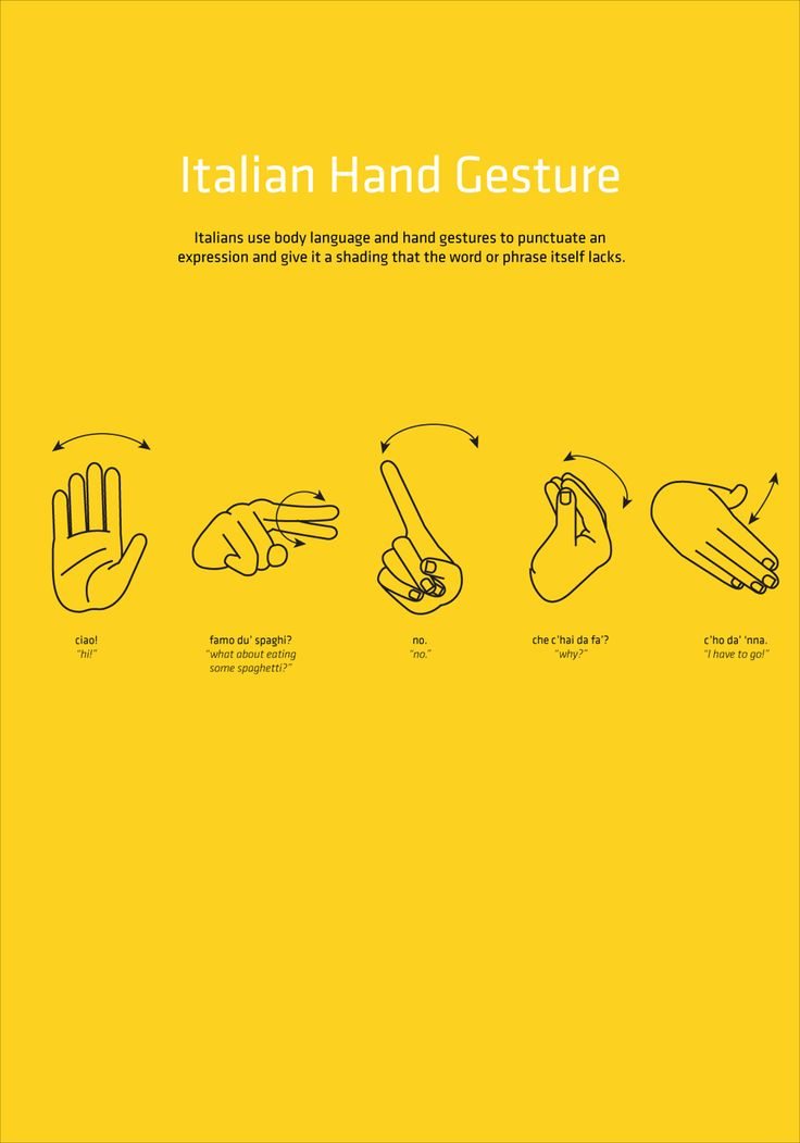 A hint of Italian hand gesture, but there are many many more! #BnBGenius #lifeisajourney
