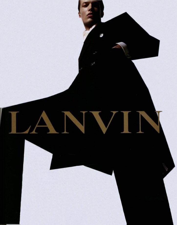 Sharp dressed man. / Menswear inspiration. / michael gandolfi by steven meisel for lanvin menswear fall 2002 campaign.