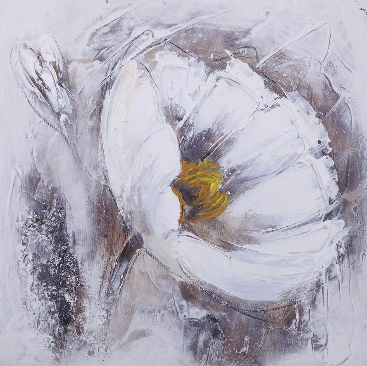 modele fleurs peinture acrylique - Recherche Google