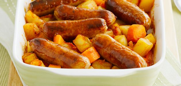 Sausage and potato bake | Foodie Stuff | Pinterest
