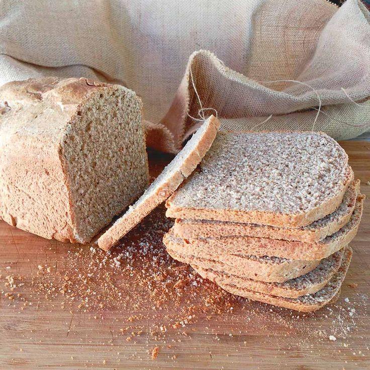 Pan de espelta integral con semillas (Panificadora)   la gloria vegana