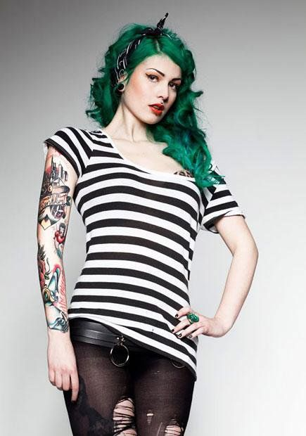 Tattoo Model - Victoria van Violence - http://worldtattoosgallery.com/tattoo-model-victoria-van-violence-7/