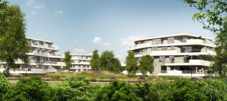De drie villa's Landgoed op de Haaf