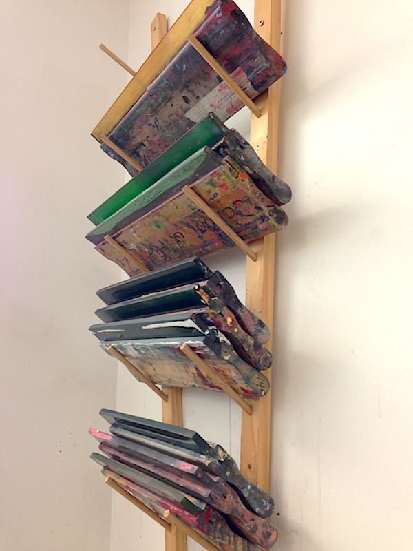 Screen Storage Racks : Best images about all screen print on pinterest