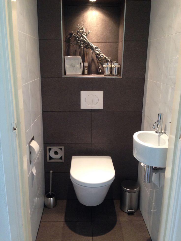 Kleine Ruimte Grandioos Vernieuwd Toilet Small