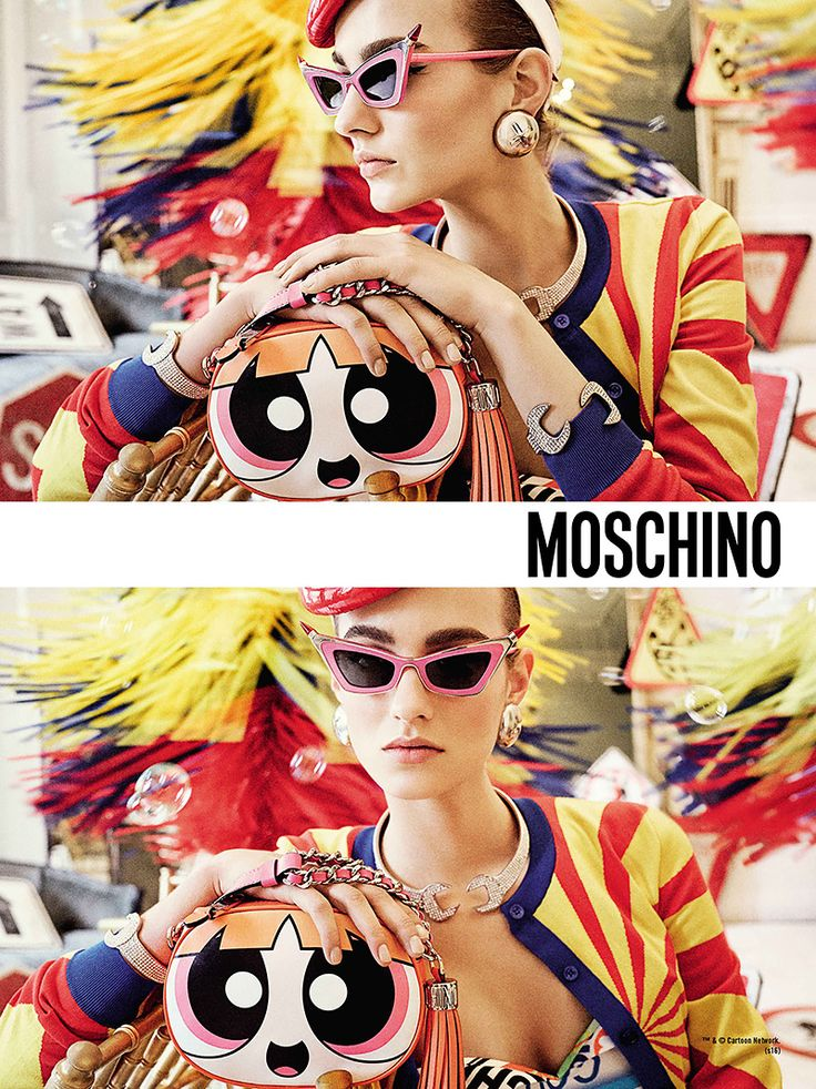 The best of Spring 2016 fashion ads // Moschino
