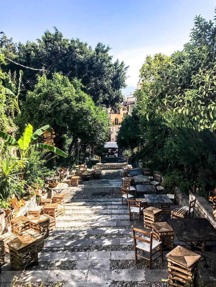 Caffe in Taormina.