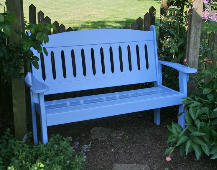 Painted Benches Outdoor Part - 24: Colorful Painted Outdoor Furniture | Garden Bench | Outdoor Furniture,  Patio Furniture And More!