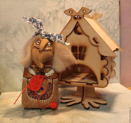 Баба-Яга рукодельница