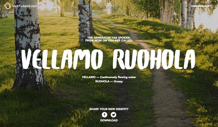 Finnish name
