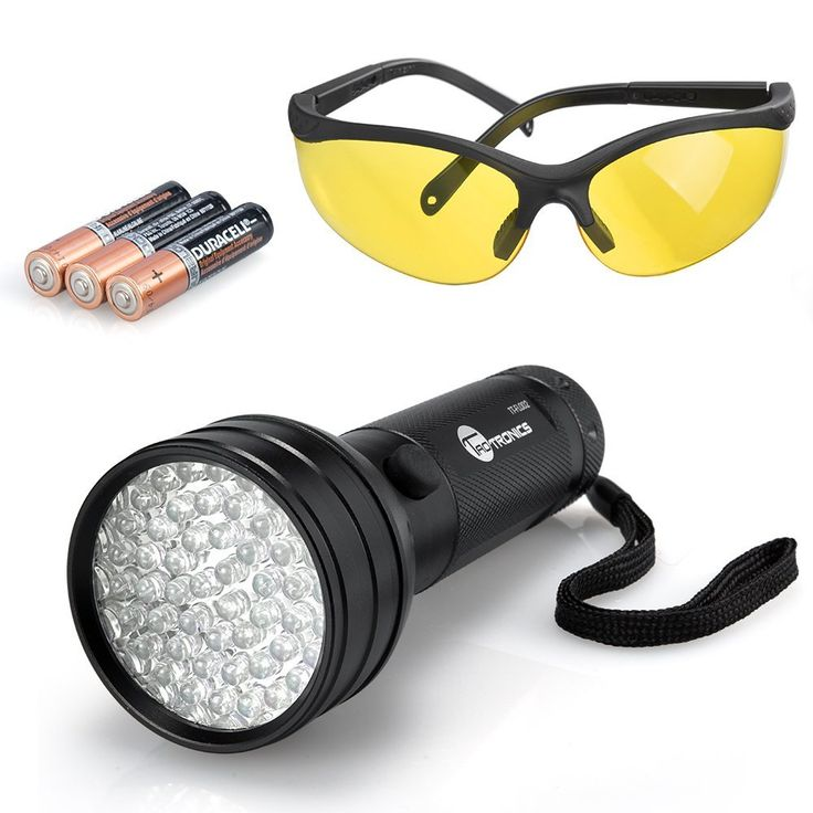 TaoTronics 51 Led UV Black Light with UV Glasses and Duracell Battery -- Read more reviews of the product by visiting the link on the image.