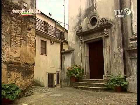 Davoli, ancient village in Calabria (Italy)