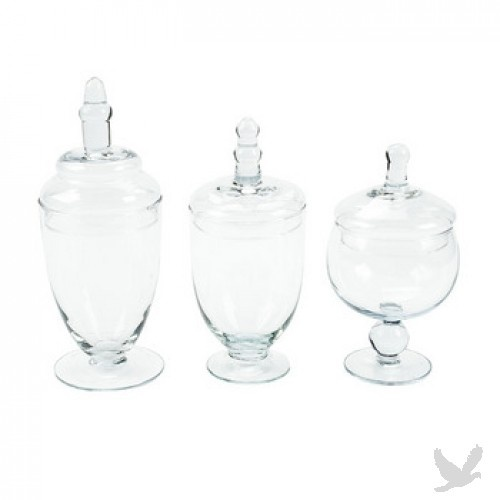 lin, look at these jars for a small popcorn bar for Ben.  check out garret popcorn.
