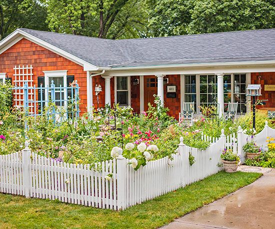 cottage garden style - Front Yard Cottage Garden Ideas
