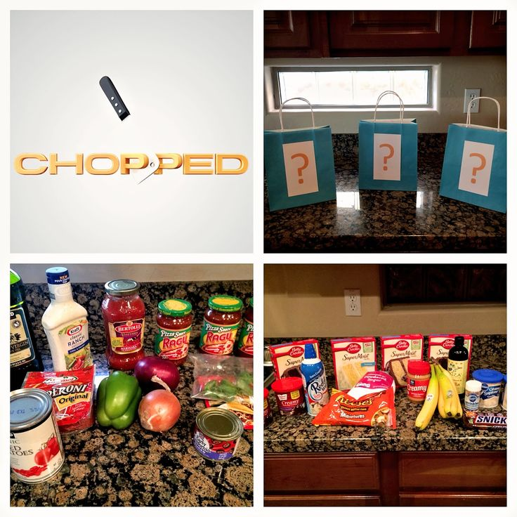 Chopped Inspired Cooking Competition Party for my daughter and her tween friends!  They had a blast and created some pretty unbelievable dishes! #chopped #cookingparty