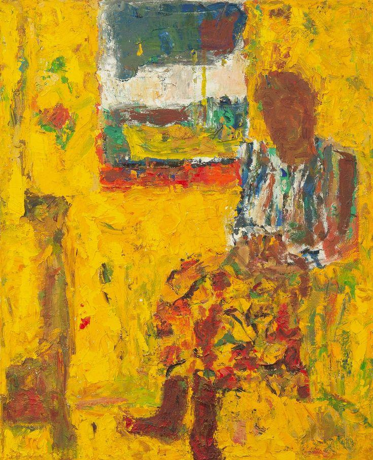 'By the Window' - Rafael Wardi (b.1928)