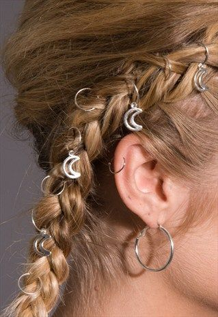 HAIR RINGS, FESTIVAL FASHION, HAIR JEWELLERY - STEPHANIEVERAFTER CROWNS