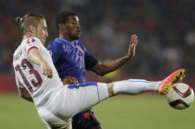 Dutch suffers shocking loss in Euro qualifier