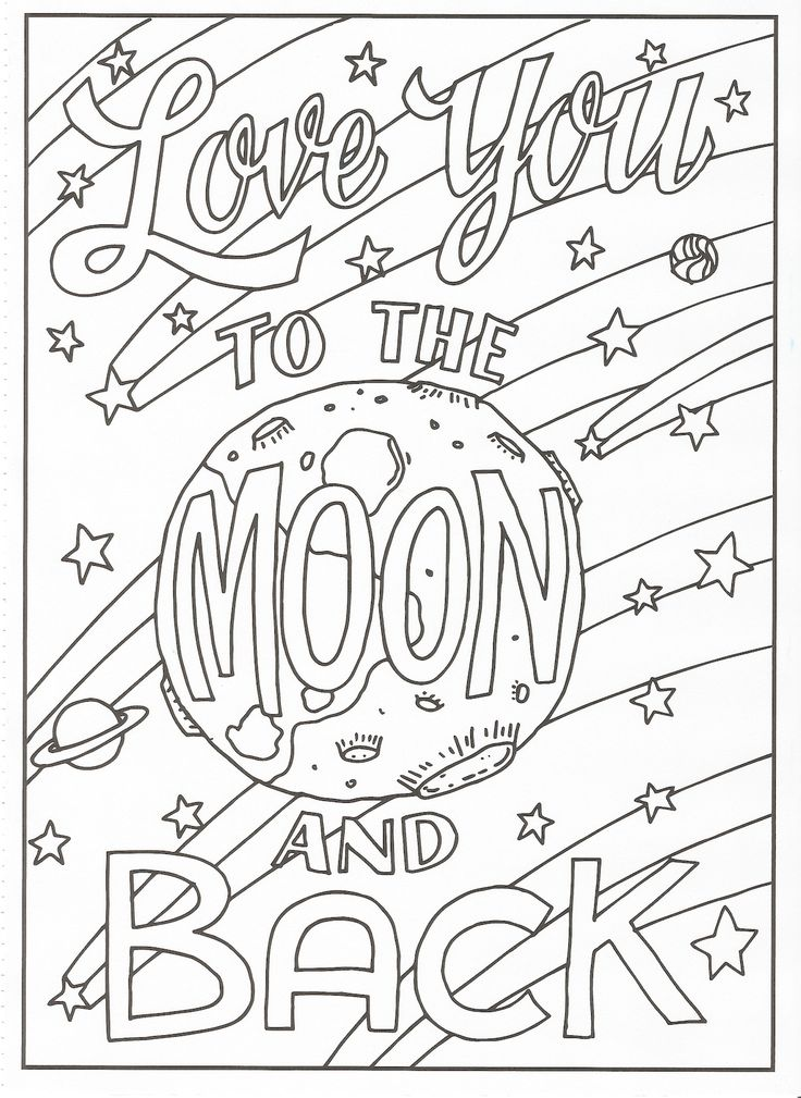 Timeless Creations - Creative Quotes Coloring Page - Love ... | free printable colouring pages quotes