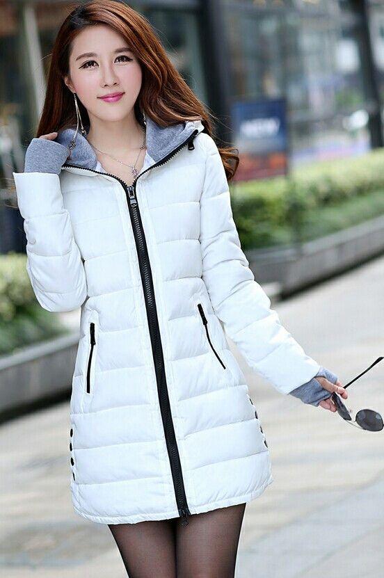 f6291623f5 New women's winter jacket down cotton jacket slim parkas ladies coat plus  size XS-XXL in 2019 | down | Winter jackets women, Winter coats women, ...