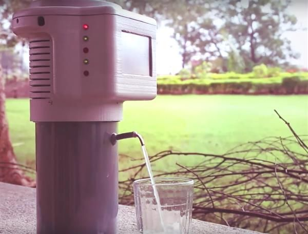 3ders.org - Incredible 3D printed gadget turns air into drinking water | 3D Printer News & 3D Printing News