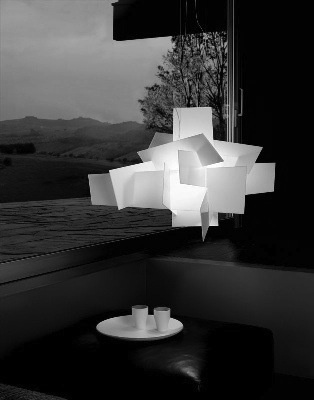 paper lamp shade. i like the Geometric shape of this lamp as i think it is fun and also really creative.