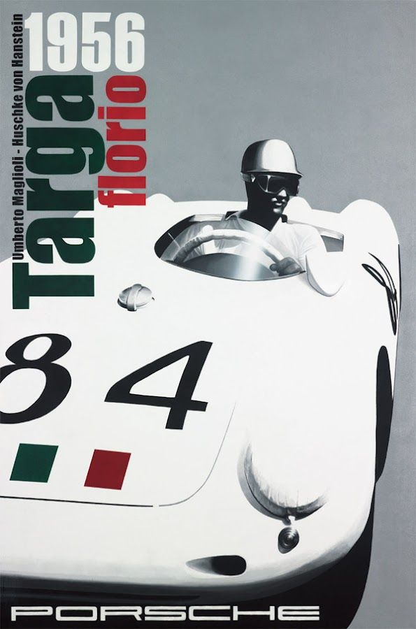 intnat'l sports car racing day ~ March 17 ~ *classic racing painted by thierry nou