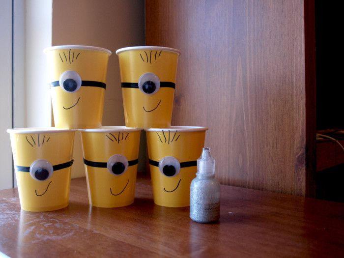 minion party cups tutorial me rebecca autry creations