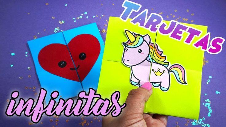 Tarjetas MÁGICAS infinitas! para toda ocasión! - DIY - Never Ending Cards!
