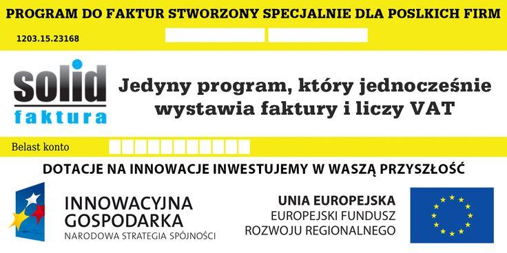 Program #FakturaSolid został stworzony specjalnie dla polskich firm działających w Norwegii. Jednocześnie wystawia faktury i liczy VAT!
