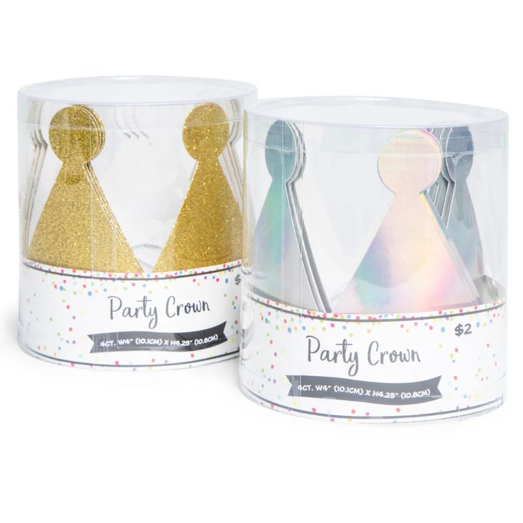 Party hat crowns 4pack party hats crown party party