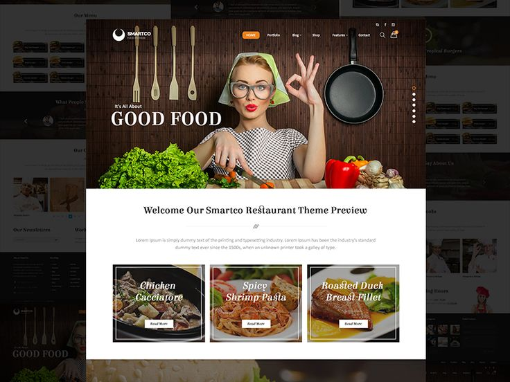 Smartco Restaurant Demo by Theme20