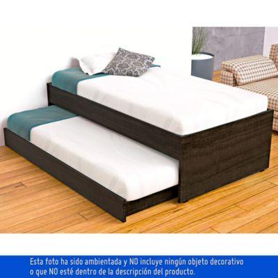 CAMA NIDO 54.4X105X194.6 cm ROBLE AHUMAD-Homecenter.com.co