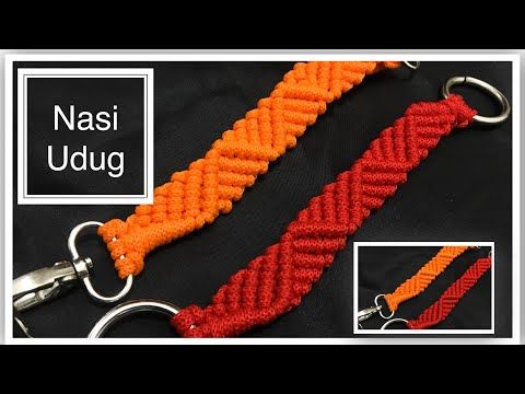 Cara Membuat Tali Tas Rajut Kepang (How To Make Braided Bag Strap) - YouTube