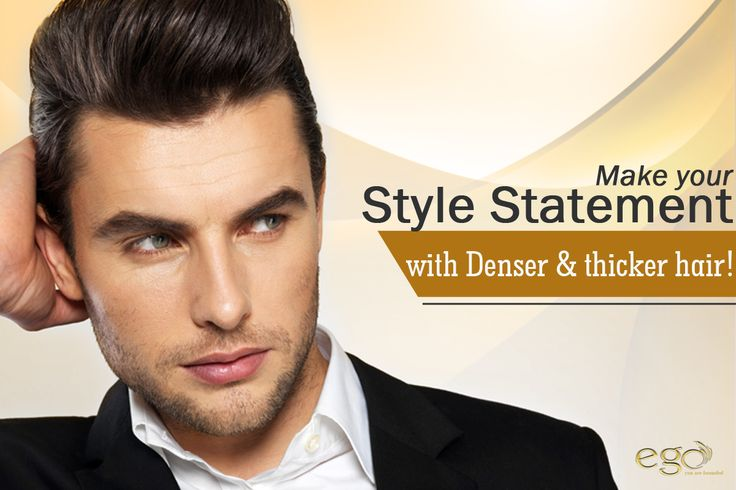 MAKE YOUR STYLE STATEMENT WITH DENSER & THICKER HAIR! #egowellness #hairtreatment #haircare