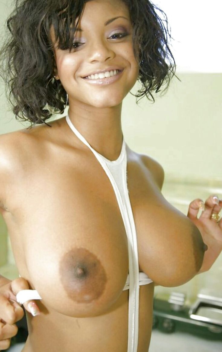 Sexy Black Naked Nipples