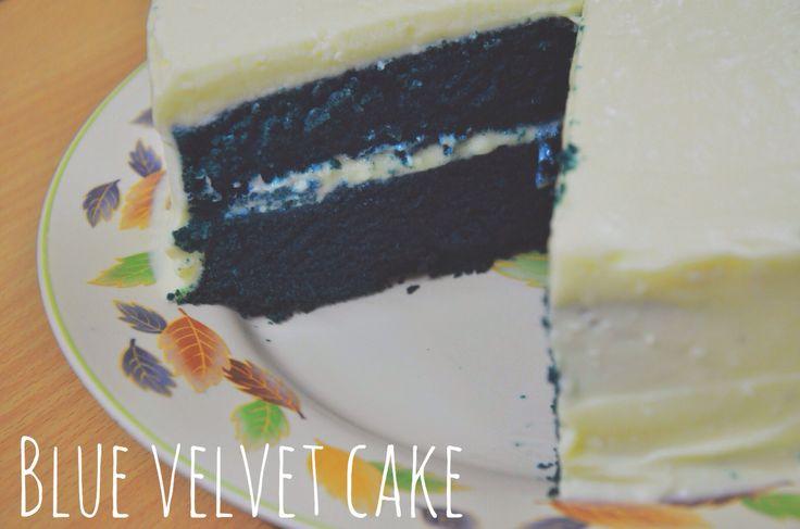 #blue #velvet #cake