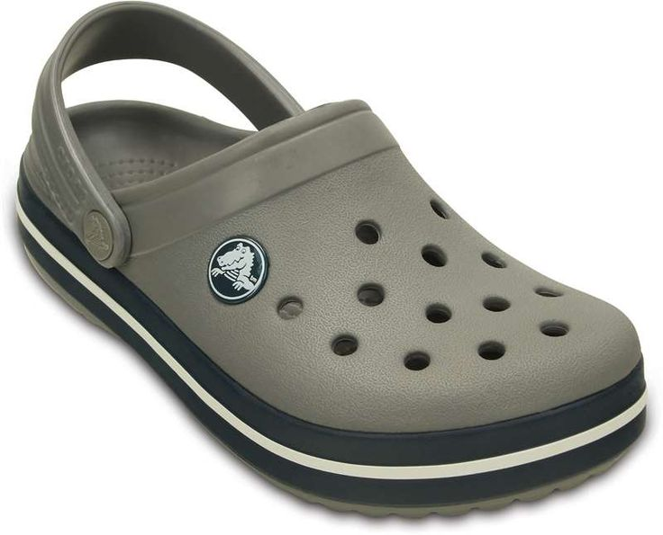 Crocs, Pistokkaat, Kids Crocband, Smoke/Navy STORLEK 33-34 / J2