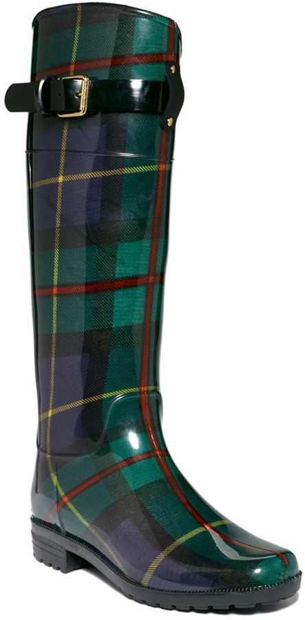 Ralph Lauren Lauren By Rossalyn Rain Boots on shopstyle.com