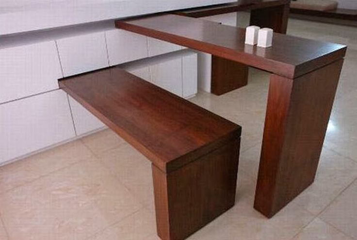 Dining Table - Small Solutions -  Small Spaces Addiction