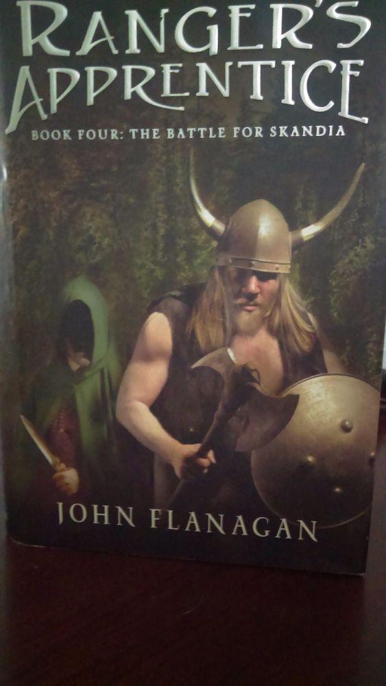 Ranger's Apprentice: The Battle for Skandia Bk. 4 by John Flanagan (2009, Hard..