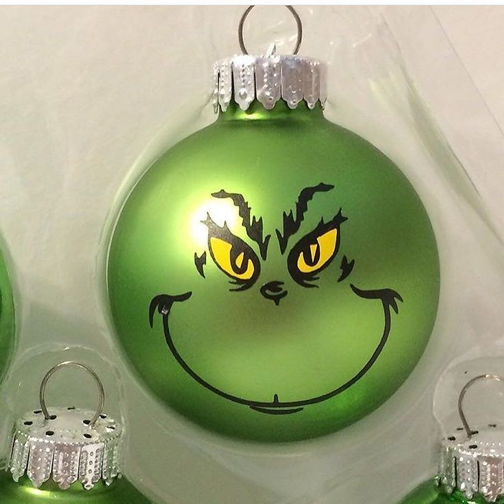 Christmas Decorations The Grinch: Grinch Might Be A Mean One... But This Ornament From @sew