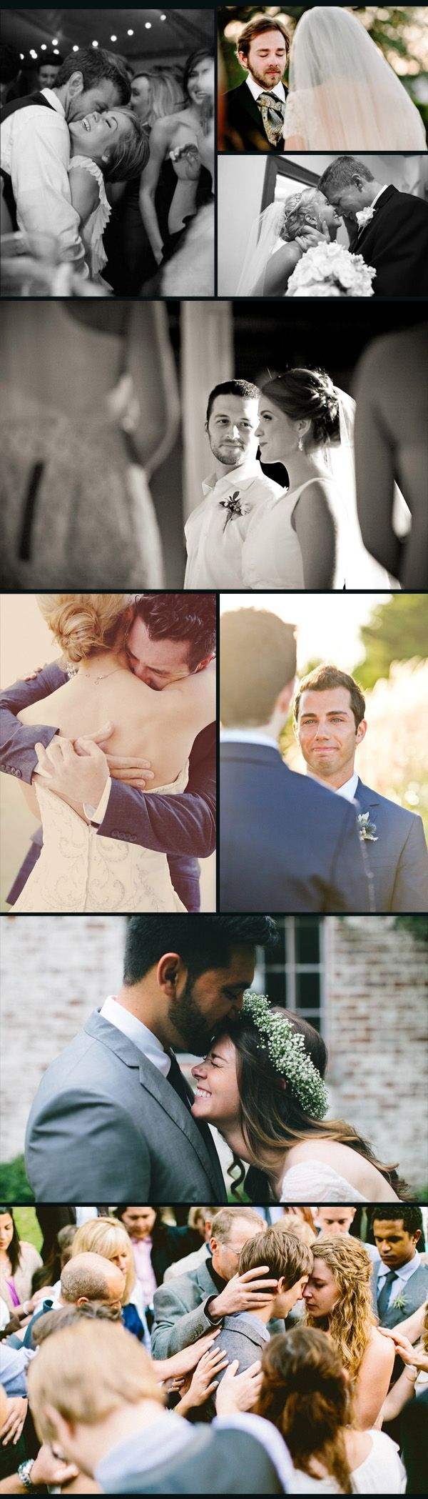most emotional moments of brides and grooms in real weddings