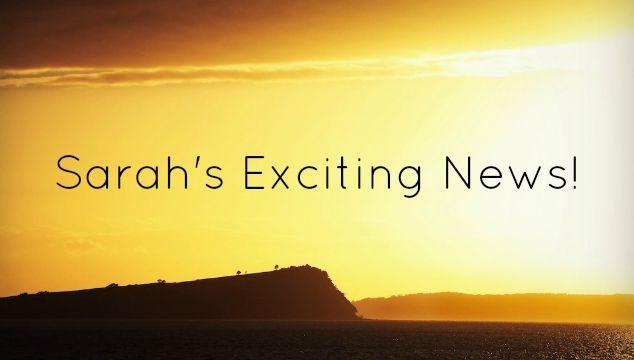 Sarah's Exciting News: Argentina and Sarah Albom Photography
