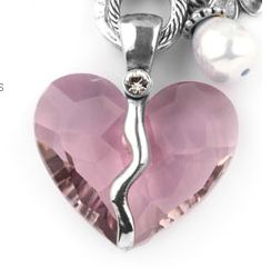 October is breast cancer awareness month - beautiful pink enhancer! #breastcancer #miglio