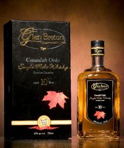 Glen Breton Rare 10 Year Whiskey. Selected as one of the 101 whiskies to try before you die in the book of the same name by Ian Buxton.